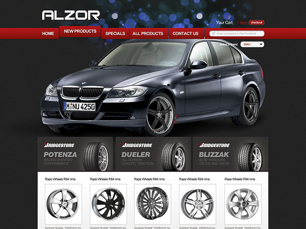 Web project for Alzor_v2